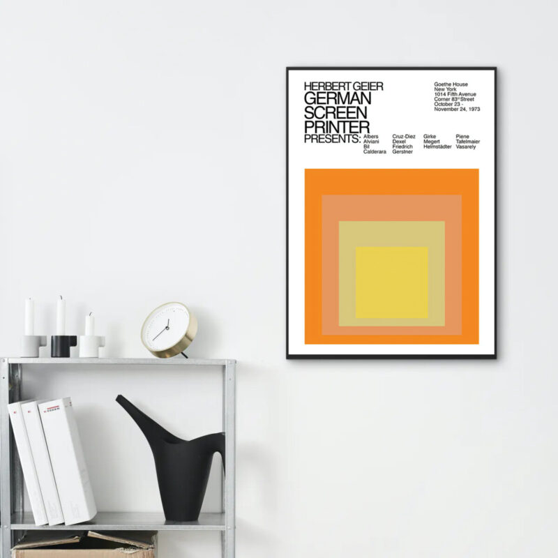 albers homage to the square mock up